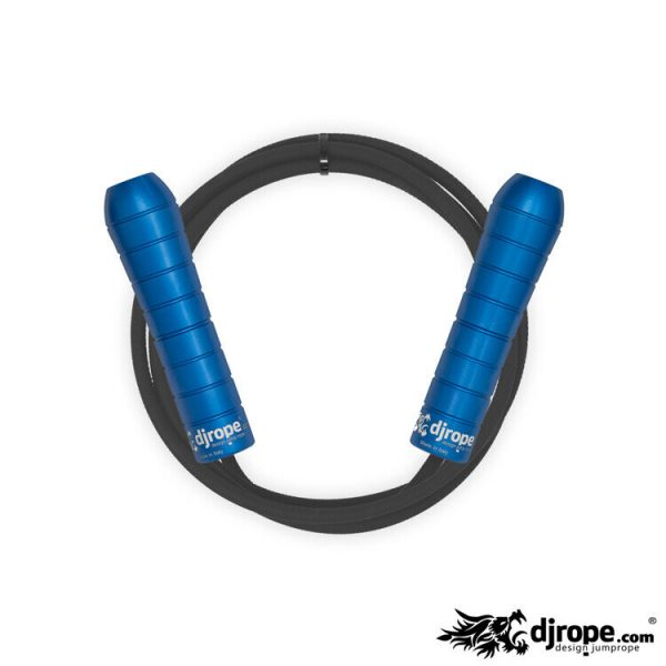 Corda per saltare DJROPE Performance Blu corda nera