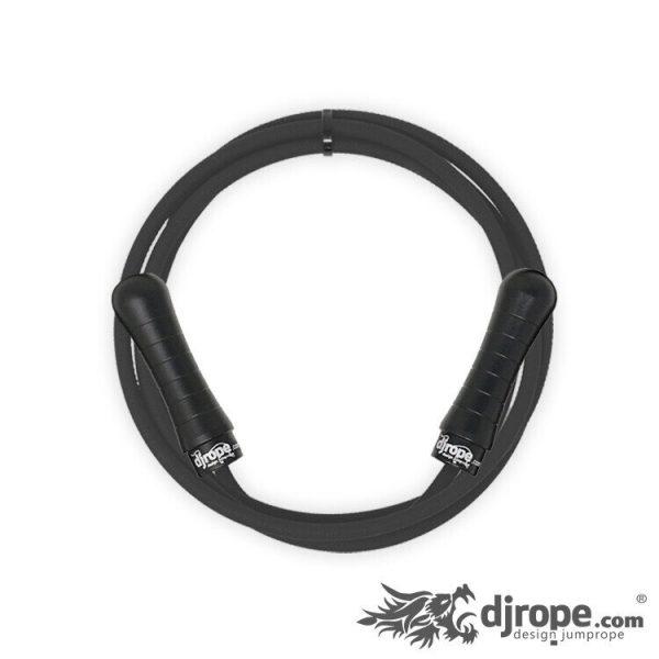 Corda per saltare DJROPE Pocket Nero corda nera