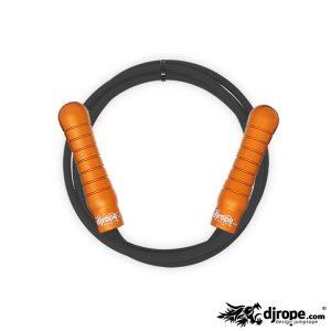 Corda per saltare DJROPE Pro Arancio corda nera