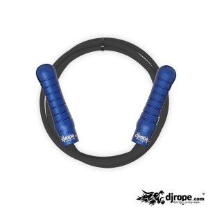 Corda per saltare DJROPE Pro Blu corda nera