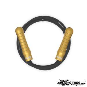 Corda per saltare DJROPE Pro Oro corda nera